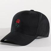 /achat-casquettes-de-baseball/luxury-lovers-casquette-rose-noir-90827.html