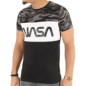 /achat-t-shirts/nasa-tee-shirt-worm-logo-tricolore-noir-blanc-camo-124505.html