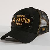 /achat-trucker/hechbone-casquette-trucker-plaque-el-patron-noir-jaune-146182.html