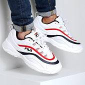 /achat-baskets-basses/fila-baskets-ray-low-1010561-150-white-navy-red-157230.html
