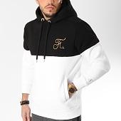 /achat-sweats-capuche/final-club-sweat-capuche-gold-label-bicolore-avec-broderie-or-109-noir-blanc-158643.html