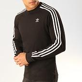 /achat-t-shirts-manches-longues/adidas-tee-shirt-manches-longues-avec-bandes-3-stripes-dv1560-noir-blanc-165928.html