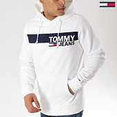 /achat-sweats-capuche/tommy-hilfiger-jeans-sweat-capuche-essential-graphic-6047-blanc-170754.html