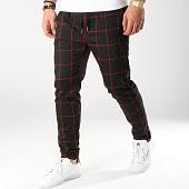 /achat-pantalons-carreaux/frilivin-pantalon-carreaux-7337-qr04-noir-rouge-170955.html