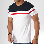 /achat-t-shirts/lbo-tee-shirt-tricolore-726-bleu-rouge-blanc-177980.html