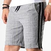 /achat-shorts-jogging/mackten-short-jogging-a-carreaux-avec-bandes-30003-gris-bleu-noir-182875.html