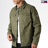 /achat-vestes/tommy-hilfiger-jeans-veste-cargo-6489-vert-kaki-182829.html