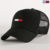 /achat-trucker/tommy-hilfiger-casquette-trucker-flag-4920-noir-183067.html