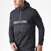 /achat-sweats-zippes-capuche/project-x-sweat-zippe-capuche-1920028-noir-blanc-184813.html