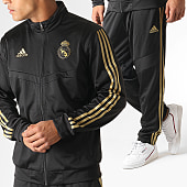 /achat-ensembles-survetement/adidas-ensemble-de-survetement-real-dx7867-noir-dore-185419.html