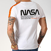 /achat-t-shirts/final-club-x-nasa-tee-shirt-space-exploration-avec-bandes-et-broderie-251-blanc-185751.html