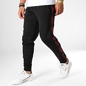 /achat-pantalons-joggings/hugo-by-hugo-boss-pantalon-jogging-a-bandes-reverse-logo-daschkent-50414429-noir-rouge-186651.html