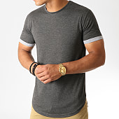 /achat-t-shirts-longs-oversize/lbo-tee-shirt-oversize-avec-revers-823-anthracite-chine-186806.html