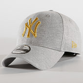 /achat-casquettes-de-baseball/new-era-casquette-baseball-9forty-jersey-new-york-yankees-12135436-gris-chine-dore-186872.html
