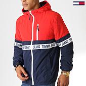 /achat-vestes/tommy-hilfiger-jeans-veste-zippee-capuche-colorblock-7233-bleu-marine-rouge-blanc-186835.html