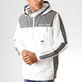 /achat-vestes/project-x-veste-zippee-capuche-reflechissant-avec-bandes-1920039-blanc-gris-metallise-188377.html