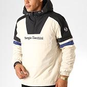 /achat-vestes/sergio-tacchini-veste-zippee-capuche-defoe-anorak-38366-beige-noir-bleu-189080.html
