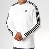 /achat-t-shirts-manches-longues/adidas-tee-shirt-manches-longues-3-stripes-ed5959-blanc-noir-189826.html