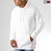 /achat-sweats-capuche/tommy-hilfiger-jeans-sweat-capuche-classics-7199-blanc-191495.html