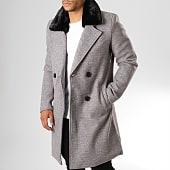 /achat-manteaux/frilivin-manteau-col-fourrure-hp050-gris-chine-noir-193258.html